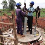 The Water Project: Katugo Community B -  Pump Installation