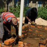 The Water Project: Eshisenye Primary School -  Latrine Construction