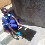 The Water Project: Matsigulu Primary School -  Water Flowing