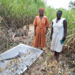 The Water Project: Shirugu Community, Shapaya Mavonga Spring -  Sanitation Platform