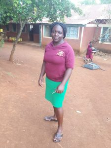 The Water Project:  Senior Teacher Caro Amuyunzu