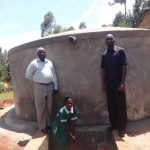 The Water Project: Isulu Primary School -  Finished Tank