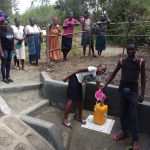 The Water Project: Shirugu Community, Shapaya Mavonga Spring -  Water Flowing