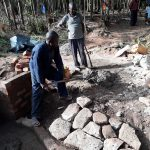 The Water Project: Upper Visiru Community, Wambosani Spring -  Spring Construction