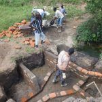 The Water Project: Elutali Community, Obati Spring -  Spring Construction