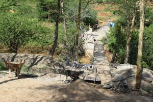 The Water Project:  Sand Dam Progress