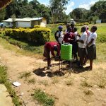 The Water Project: Kaimosi Demonstration Secondary School -  Handwashing Station