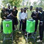 The Water Project: Lwanda Secondary School -  New Handwashing Stations