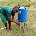 The Water Project: Mavusi Primary School -  Handwashing Station