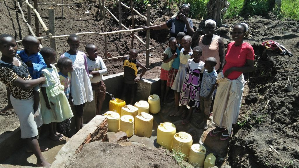 The Water Project : 23-kenya18166-water-flowing