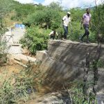 The Water Project: Kithumba Community B -  Sand Dam Progress