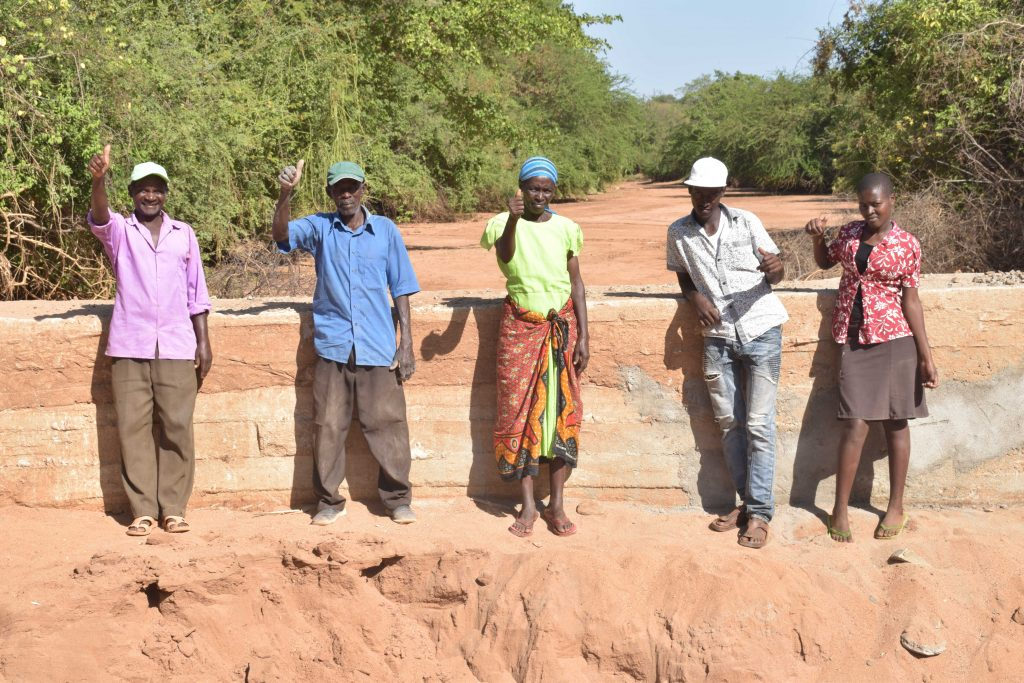 The Water Project : 24-kenya18179-finished-sand-dam