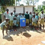 The Water Project: Eshisenye Primary School -  Latrines And Handwashing Station