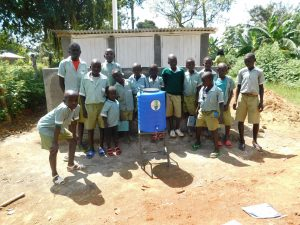 The Water Project:  Latrines And Handwashing Station