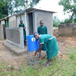 The Water Project: Mavusi Primary School -  Latrines And Handwashing Station