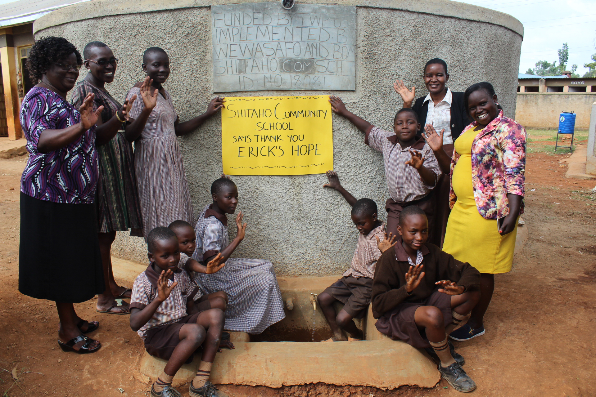 The Water Project : 25-kenya18081-thank-you