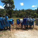 The Water Project: Shivanga Primary School -  Handwashing Stations
