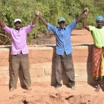 The Water Project: Katuluni Community B -  Finished Sand Dam