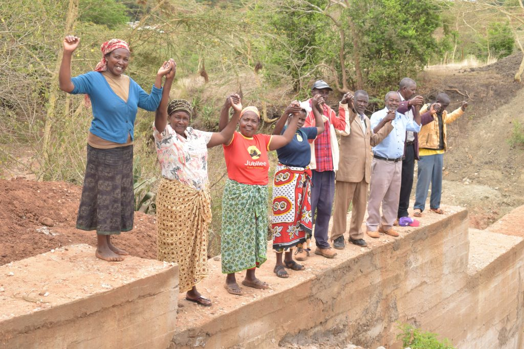 The Water Project : 25-kenya18180-finished-sand-dam