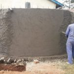The Water Project: Lugango Primary School -  Tank Construction