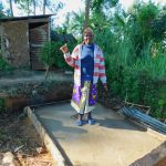 The Water Project: Koloch Community, Solomon Pendi Spring -  Sanitation Platform