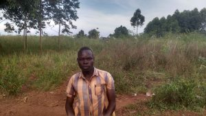 The Water Project:  Odieng Isaac
