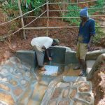 The Water Project: Asimuli Community, John Omusembi Spring -  Flowing Water