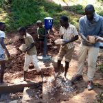 The Water Project: Chepnonochi Community -  Spring Construction