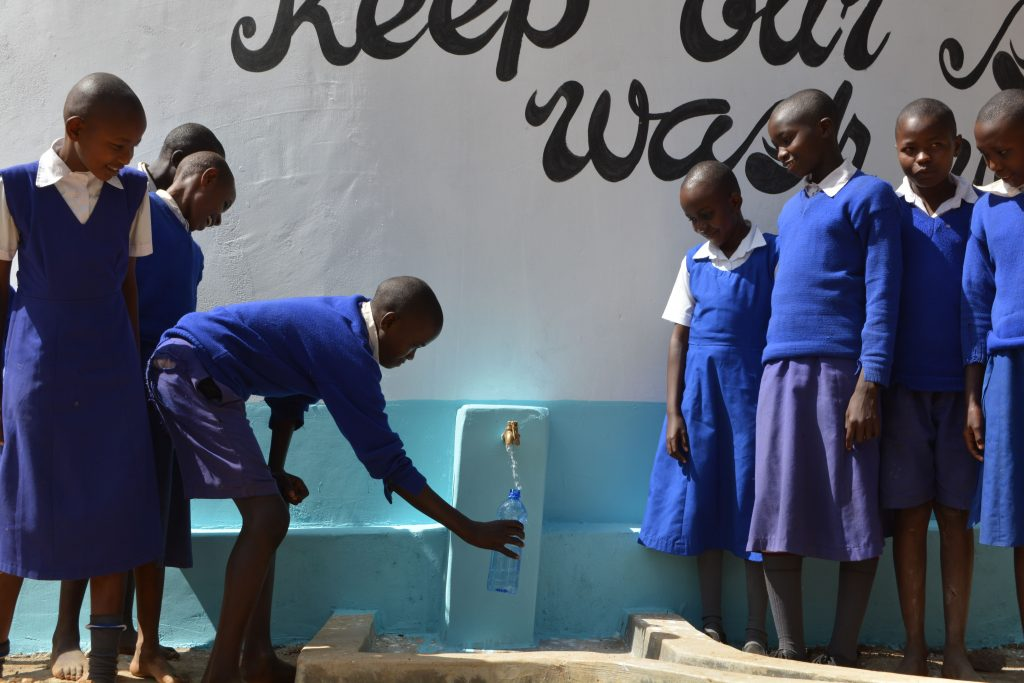 The Water Project : 27-kenya18246-water-flowing