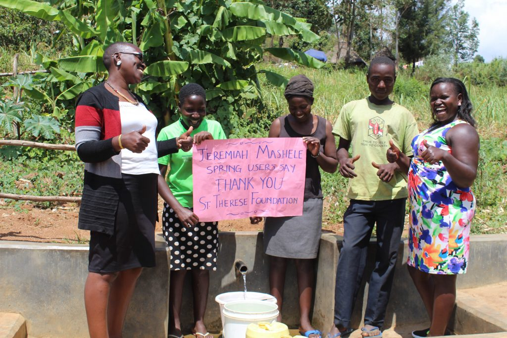 The Water Project : 28-kenya18152-thank-you