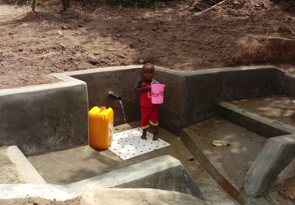 The Water Project : 28-kenya18153-water-flowing