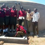 The Water Project: Kaimosi Demonstration Secondary School -  Flowing Water