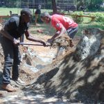 The Water Project: Lugango Primary School -  Construction