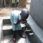 The Water Project: Eshisenye Primary School -  Flowing Water