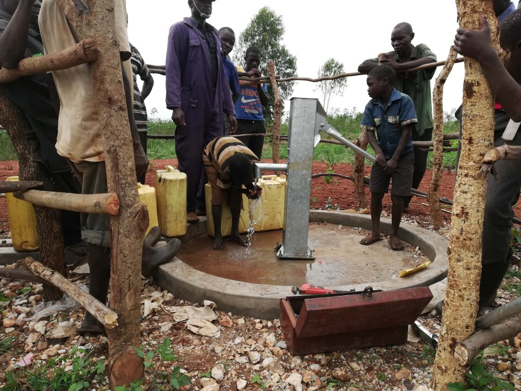 The Water Project : 29-uganda18293-water-flowing