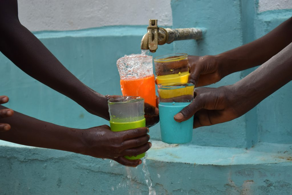 The Water Project : 3-kenya18237-water-flowing