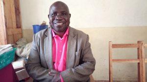 The Water Project:  Principal John Wangila