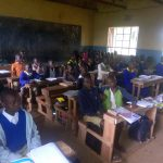 The Water Project: Essongolo Primary School -  Students In Class