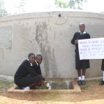 The Water Project: Lwanda Secondary School -  Flowing Water