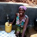 The Water Project: Chepnonochi Community, Chepnonochi Spring -  Christine Aswani