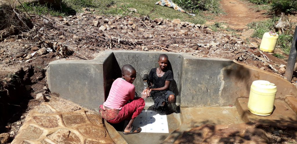 The Water Project : 31-kenya18163-water-flowing