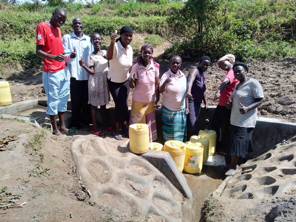 The Water Project : 31-kenya18167-flowing-water