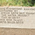 The Water Project: Ngitini Community B -  Finished Sand Dam