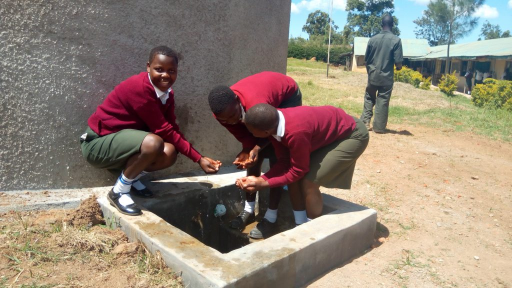 The Water Project : 32-kenya18315-flowing-water