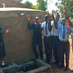 The Water Project: Gidagadi Secondary School -  Finished Tank
