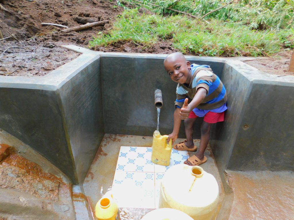 The Water Project : 35-kenya18157-water-flowing