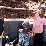 The Water Project: Chepnonochi Community, Chepnonochi Spring -  Flowing Water