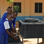 The Water Project: Kyaani Primary School -  New Handwashing Stations