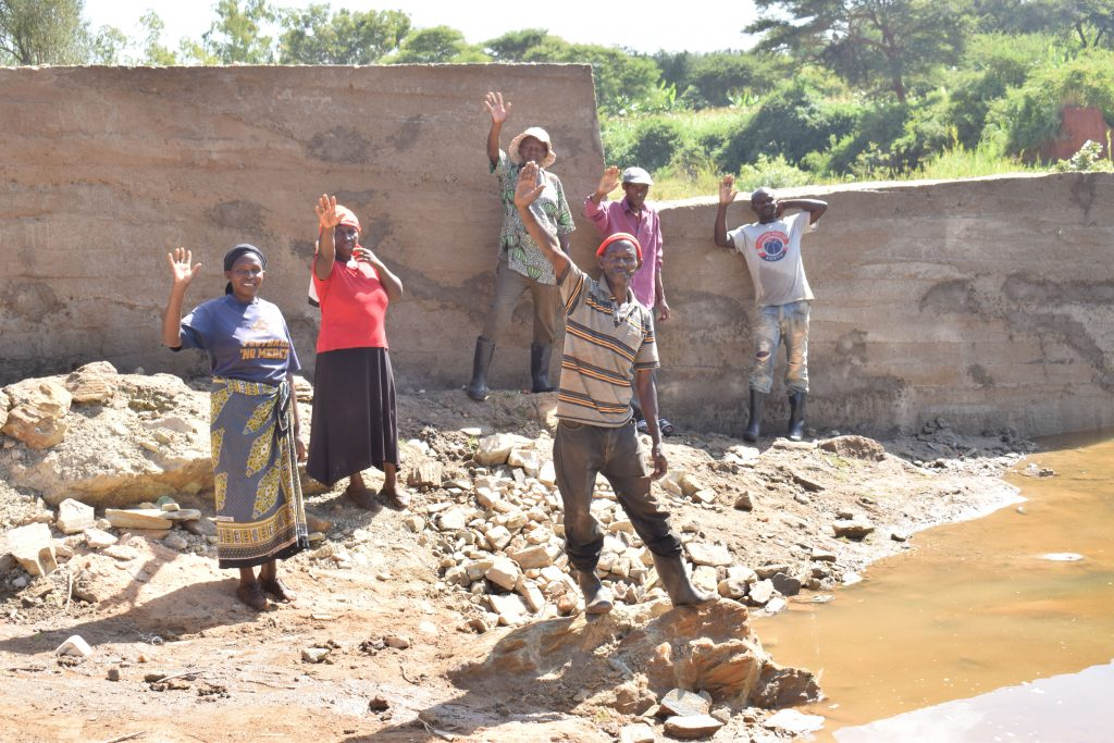 The Water Project : 37-kenya18197-finished-sand-dam