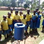 The Water Project: Lugango Primary School -  Handwashing Training